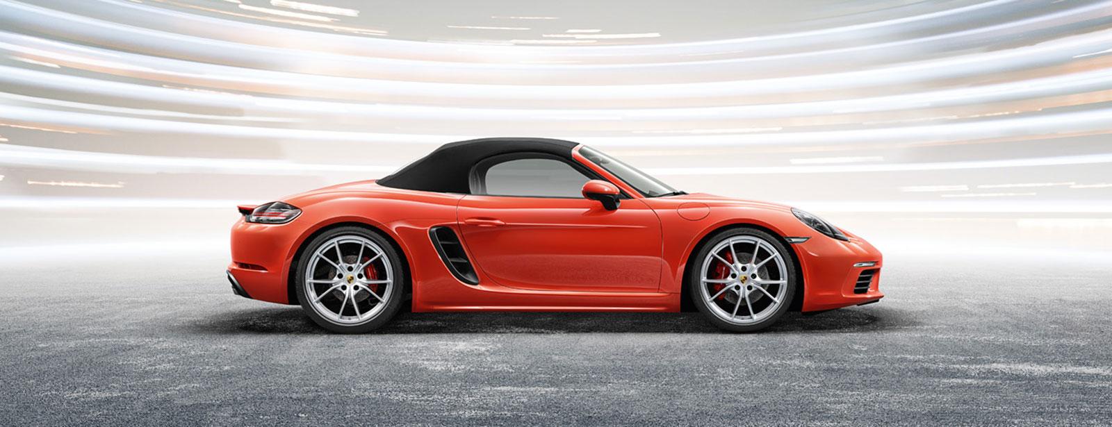 Porsche Cabriolet-Verdeckpflege